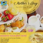 Student Dinner- High Sparkling Tea (Mother's Day Event)
