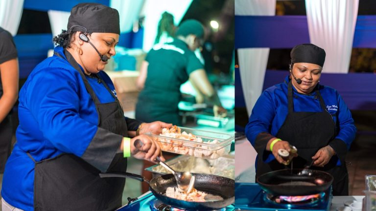 Chef Josanne Mohammed, Crown Point Hotel