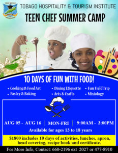Teen Chef Summer Camp